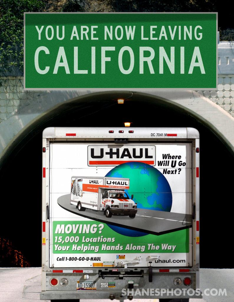 The mass exodous of Californians