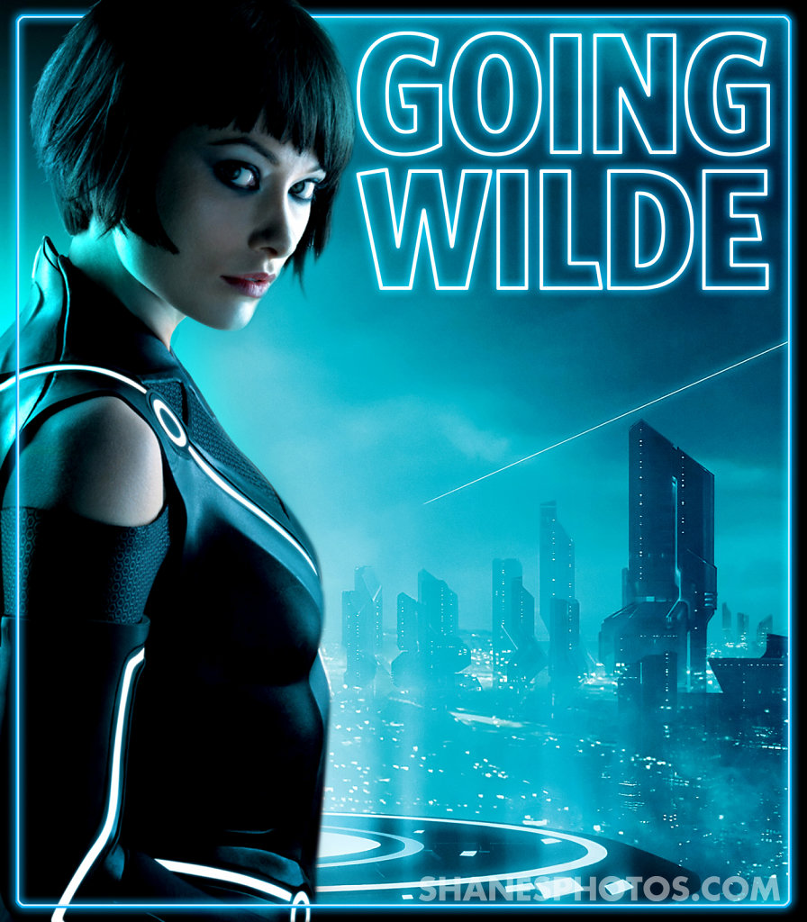 Olivia Wilde features cover focusing on Tron Legacy