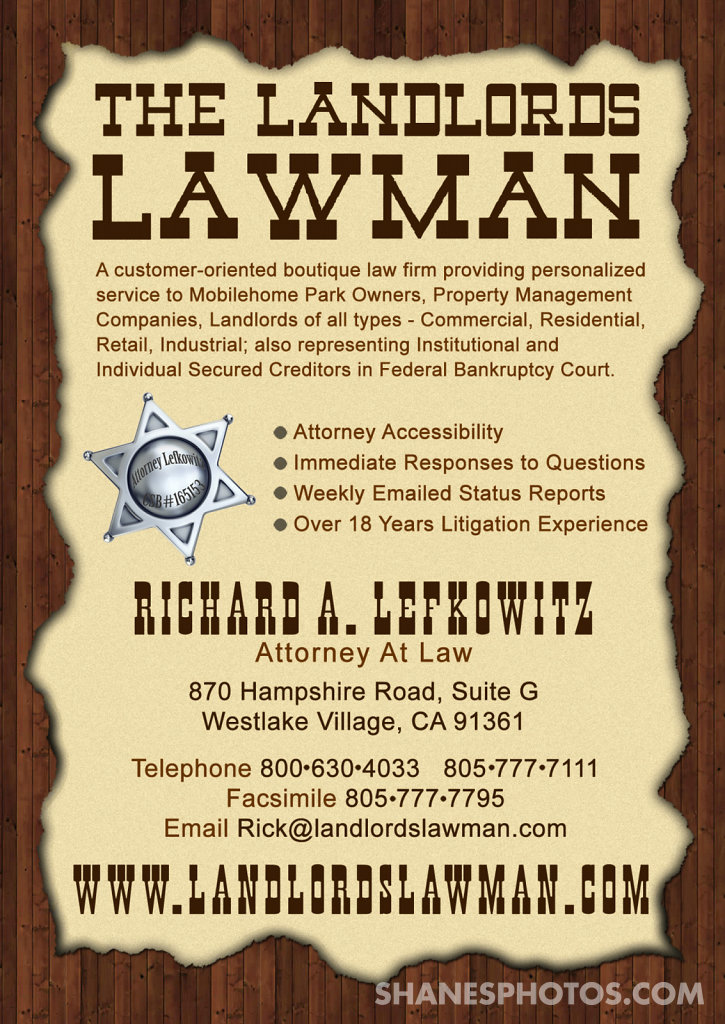 The Landlords Lawman Postcard Mailer