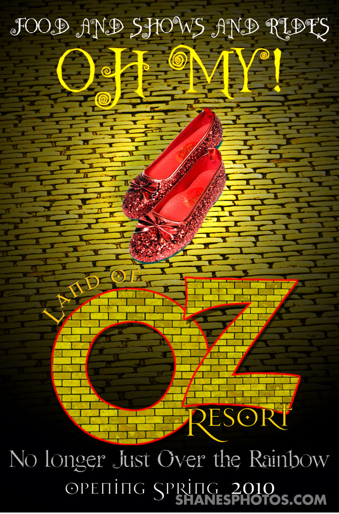 Land of Oz Resort Poster