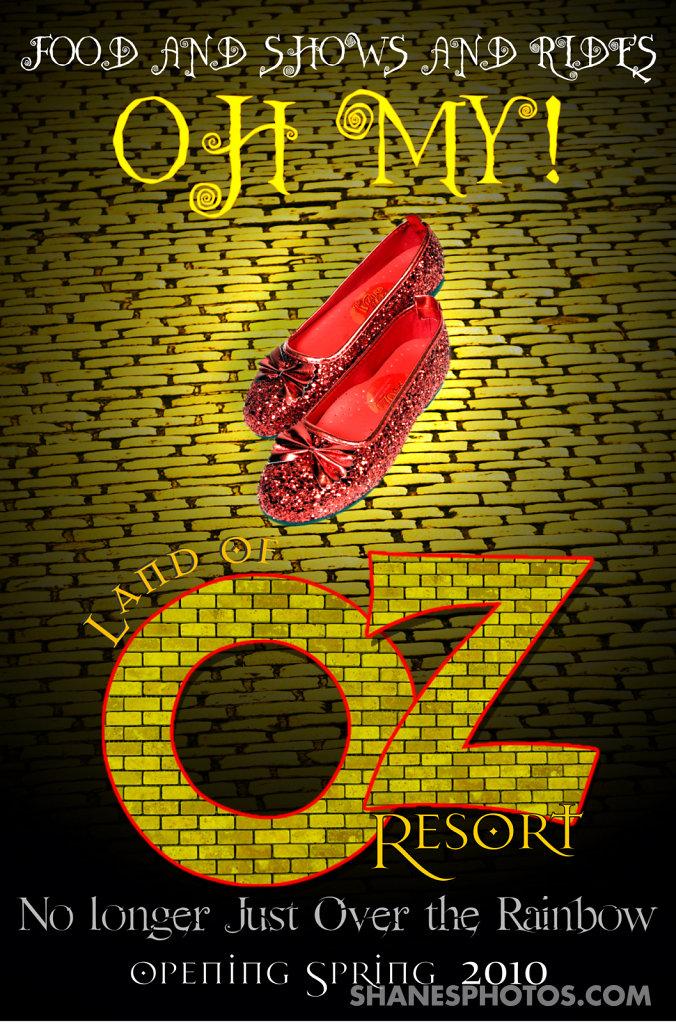Land of Oz Resort Poster