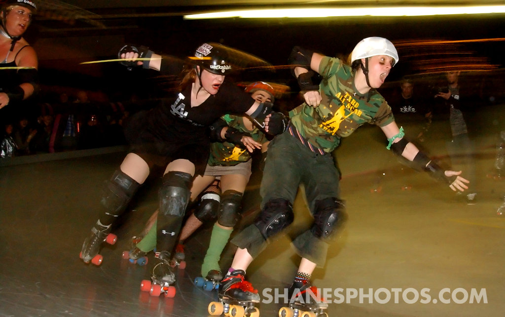 The Los Angeles Derby Dolls