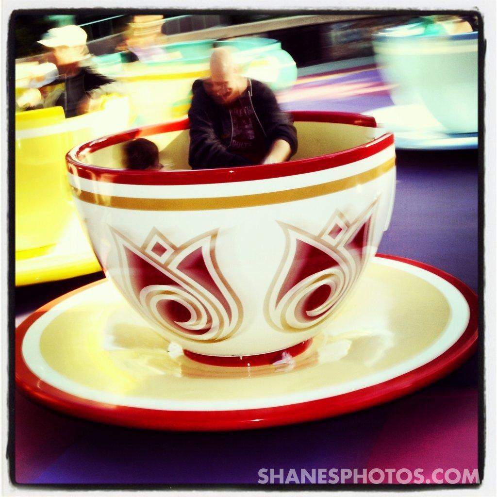 Mad Tea Party at Disneyland