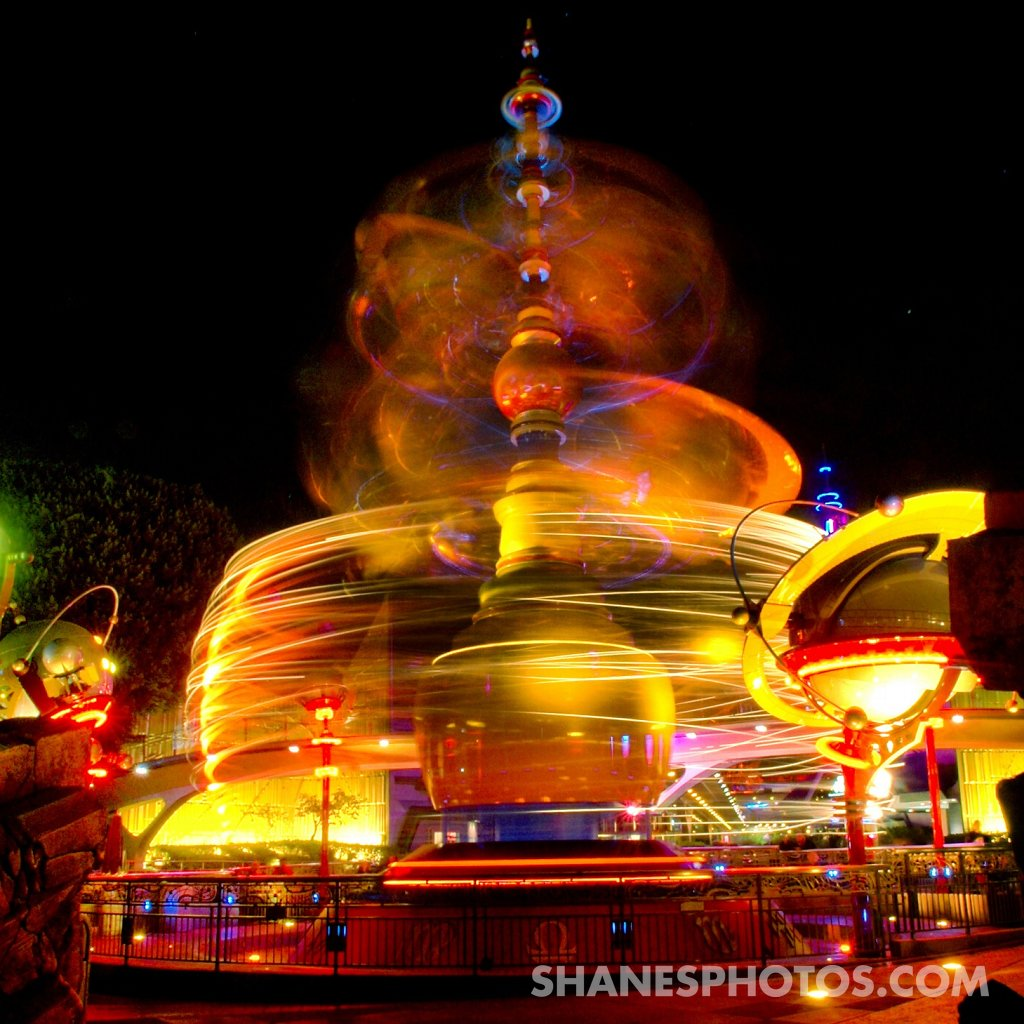 Astro Orbitor in Tomorrowland at Disneyland