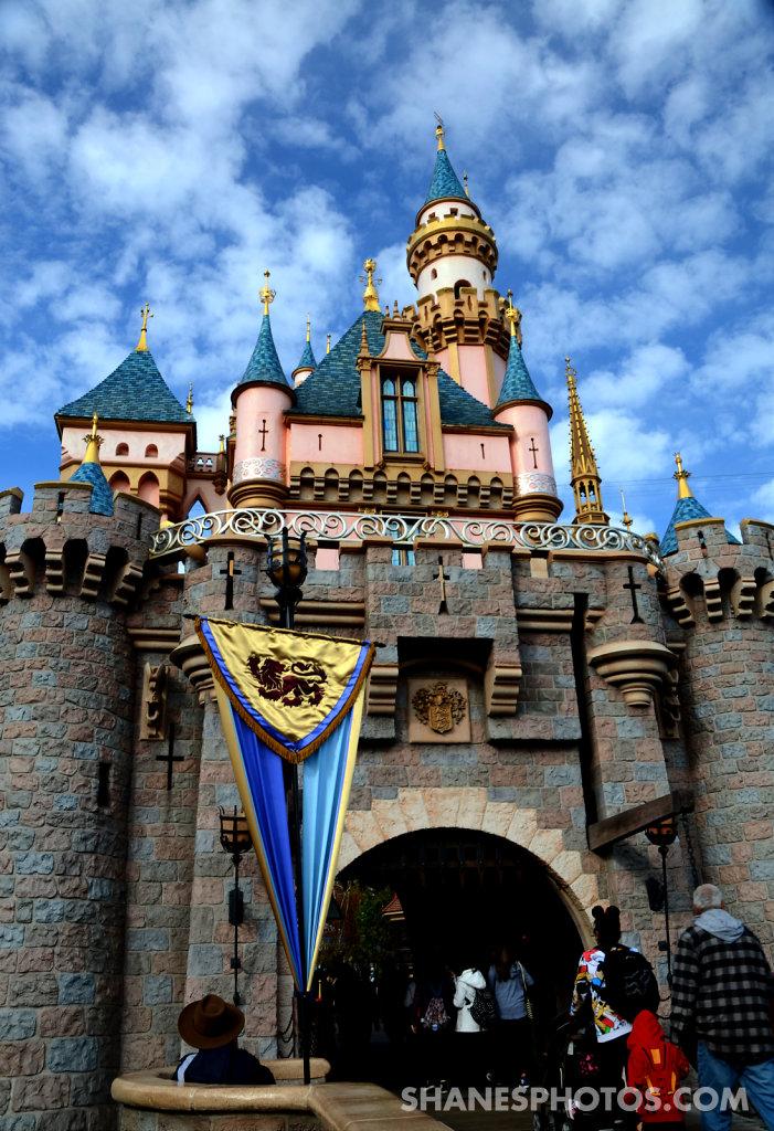 Sleeping Beauty's Castle  at Disneyland