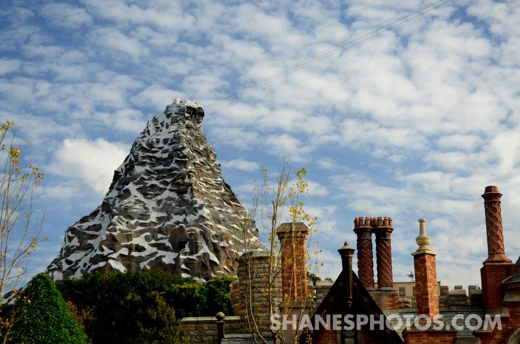The Matterhorn at Disneyland