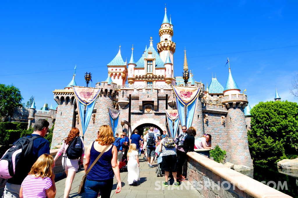 Sleeping Beauty's Castle at Disneyland