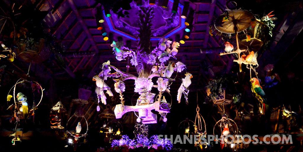 The Enchanted Tiki Room at Disneyland