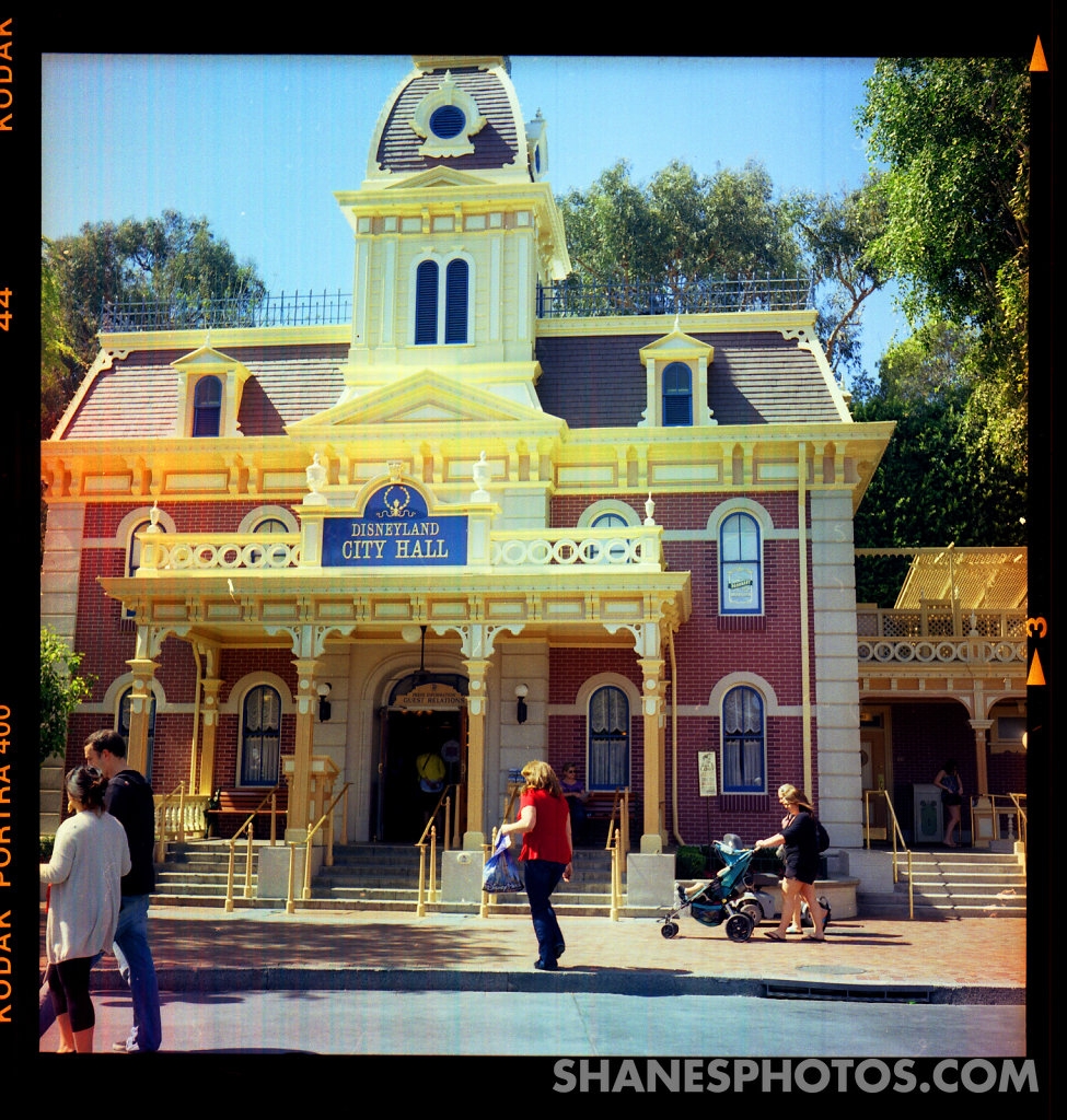City Hall at Disneyland