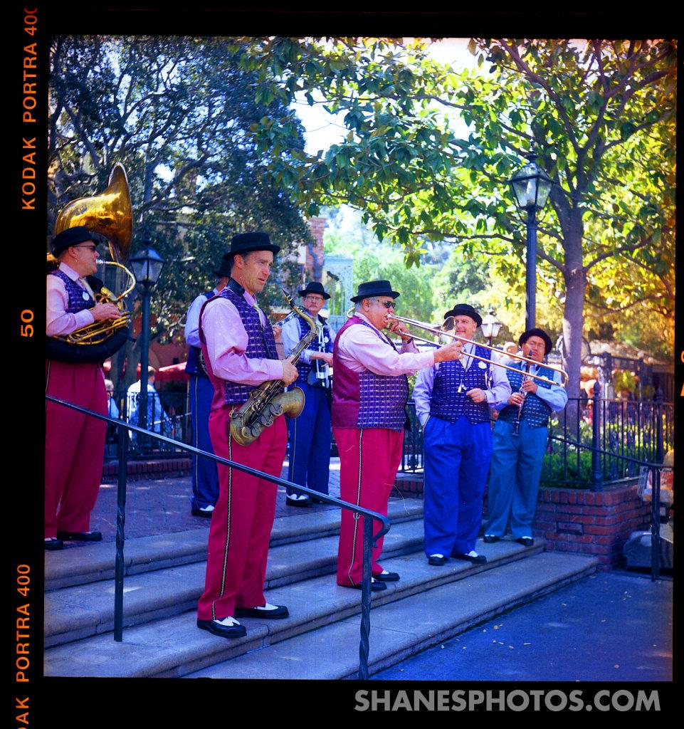 Jazz Band at Disneyland