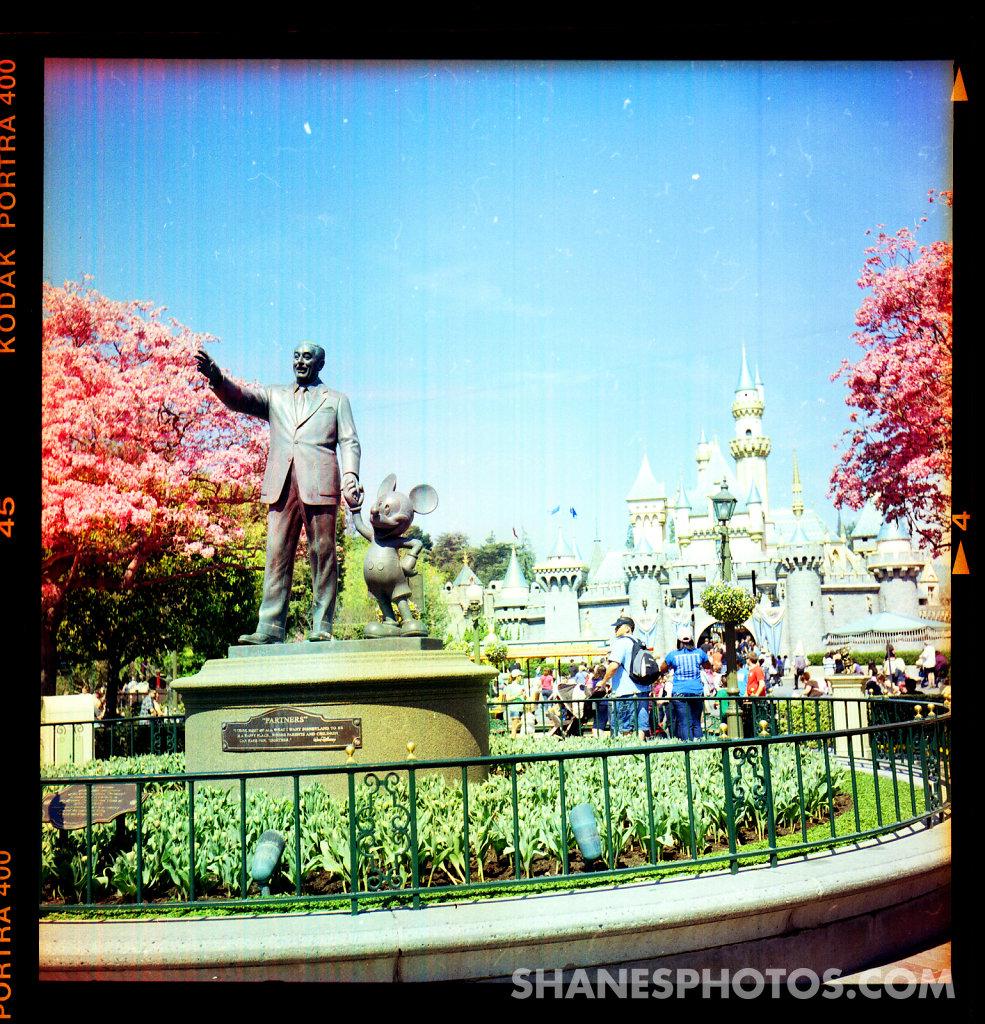 Partners Statue  at Disneyland